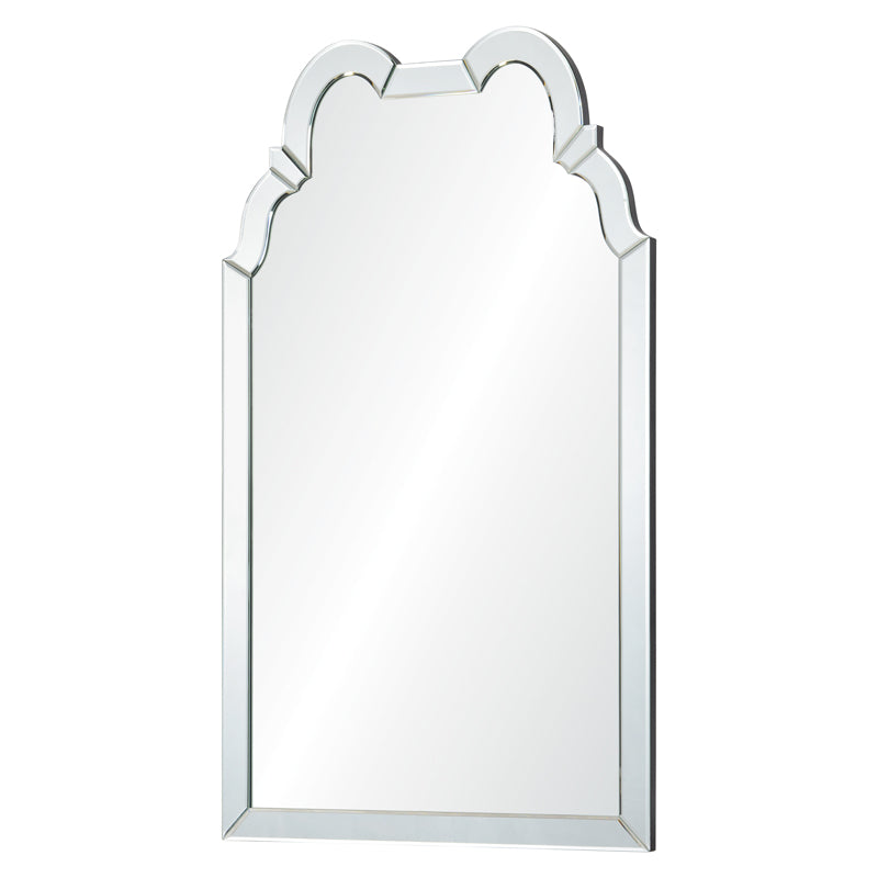 double hooded mirror frame mirror
