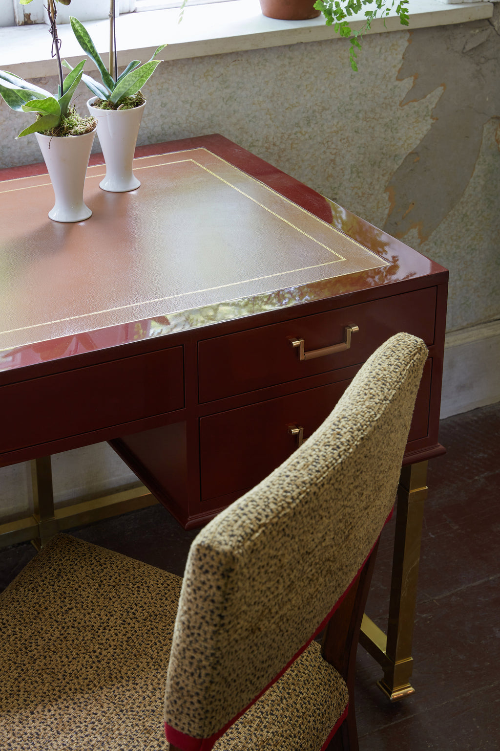 alix desk (red)