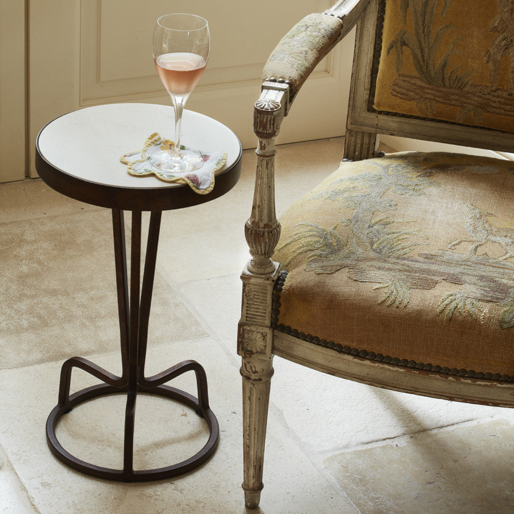 bottoms up drinks table (marble)