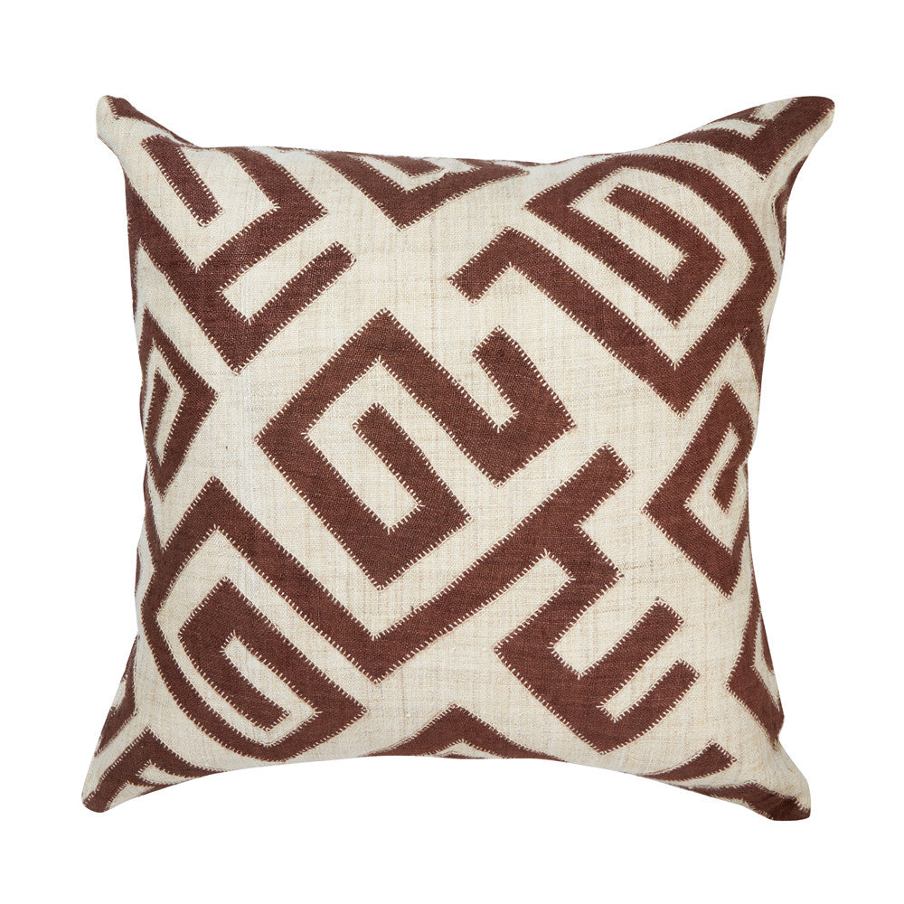 "Bambala Pillow 22"" (Brown)"