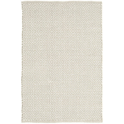 beatrice woven cotton rug (grey)