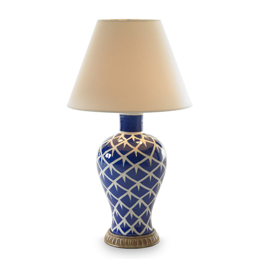 Chicken Feather Lamp (Blue)