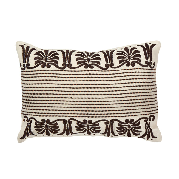 Corona Lumbar Pillow (Brown)