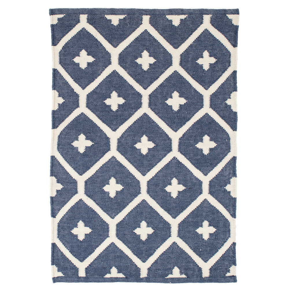 elizabeth indoor/outdoor rug (navy)