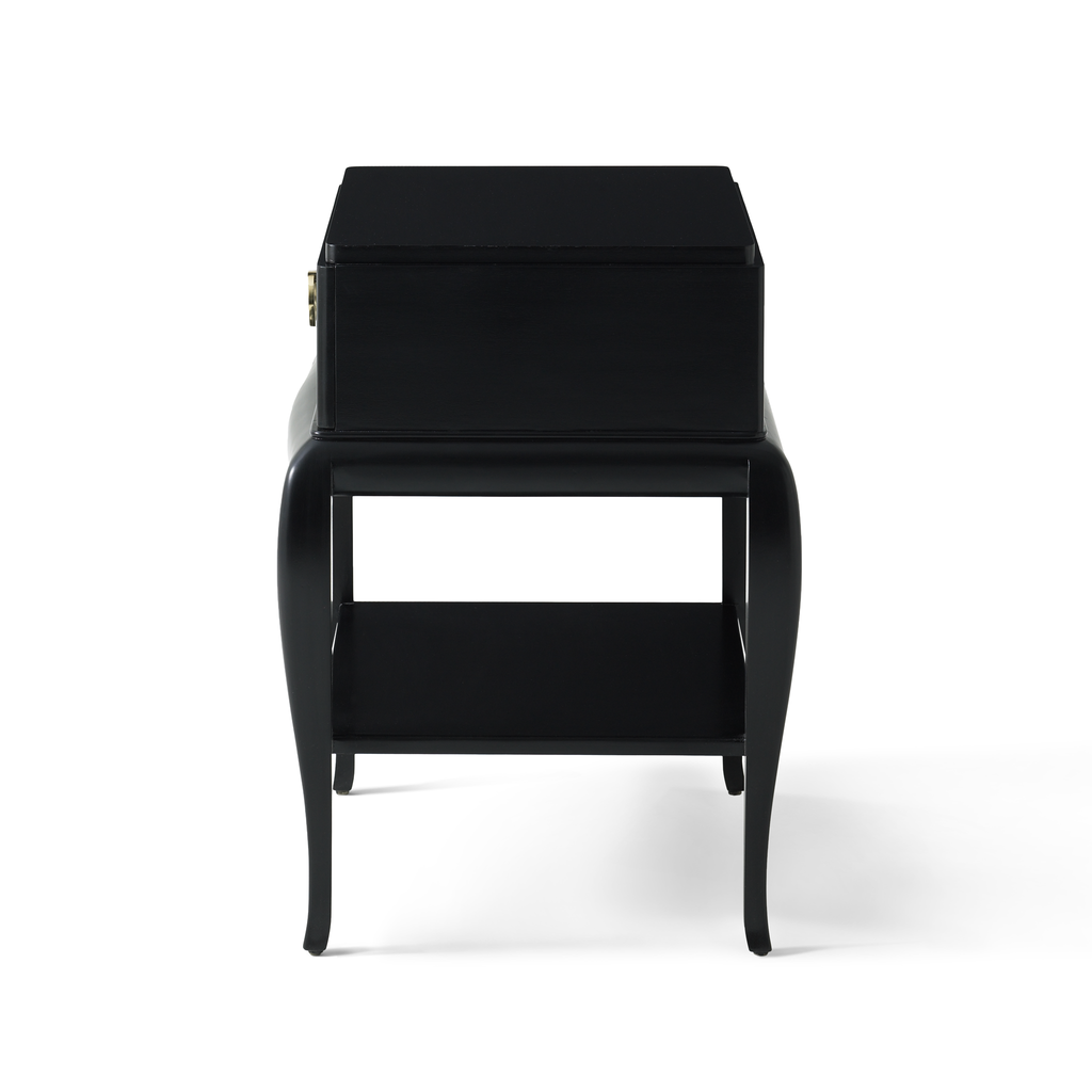 fred & ginger side table (ebony)