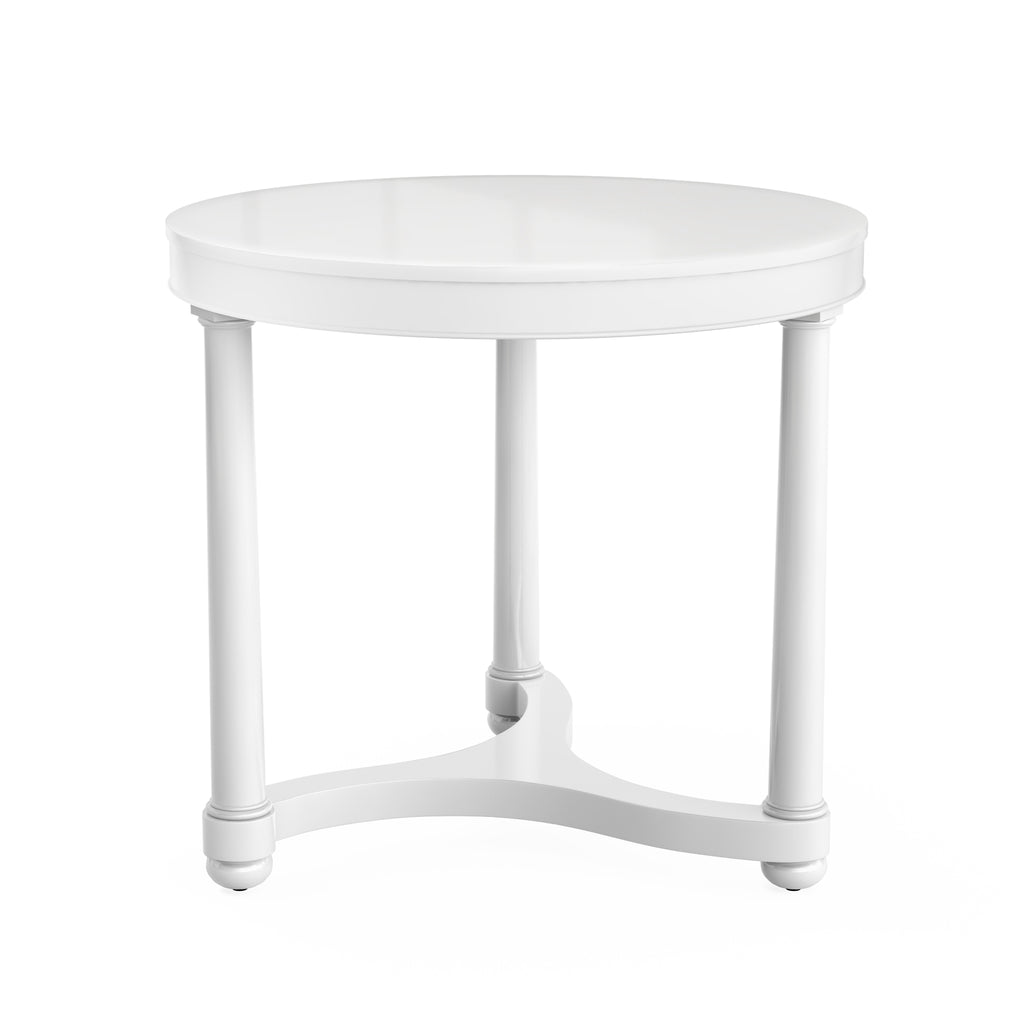 gwendolen side table (white)