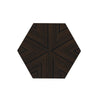 Hexagon Drinks Table (Glossy Black Lacquer)