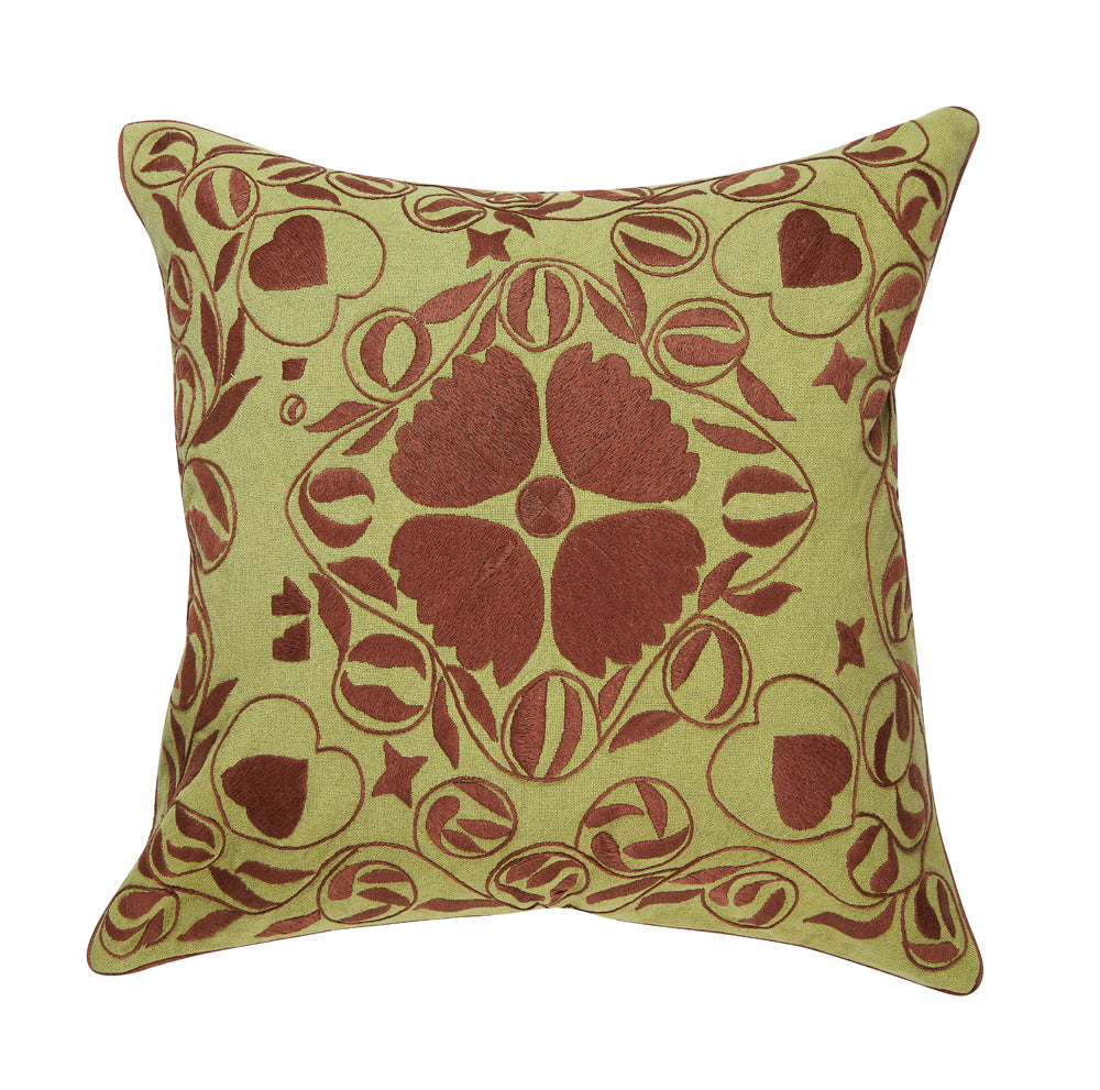 "anaya 20"" pillow (green)"