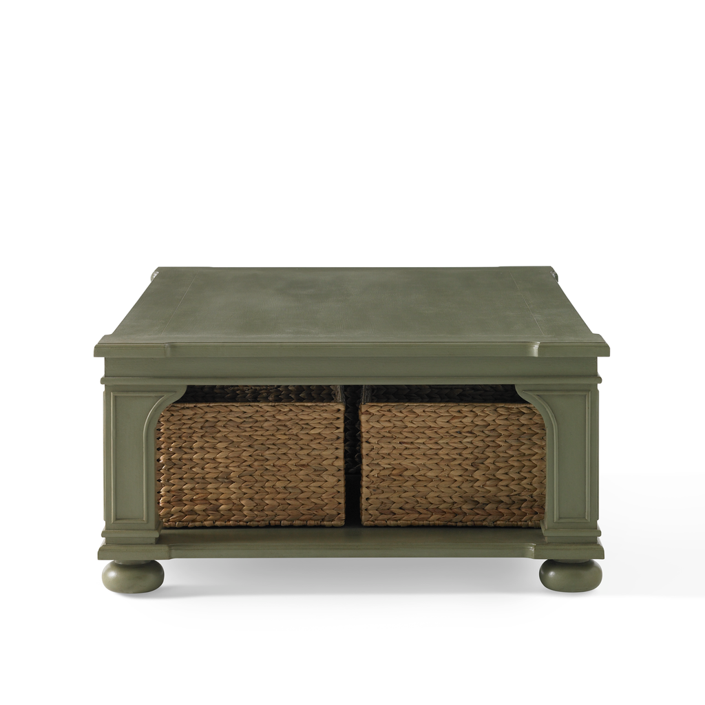 Low Country Coffee Table (green)