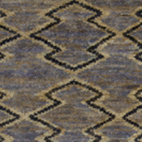 aztec blue rug (hemp)