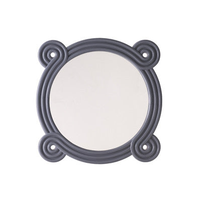 Ohm Mirror (Gray Lacquer)