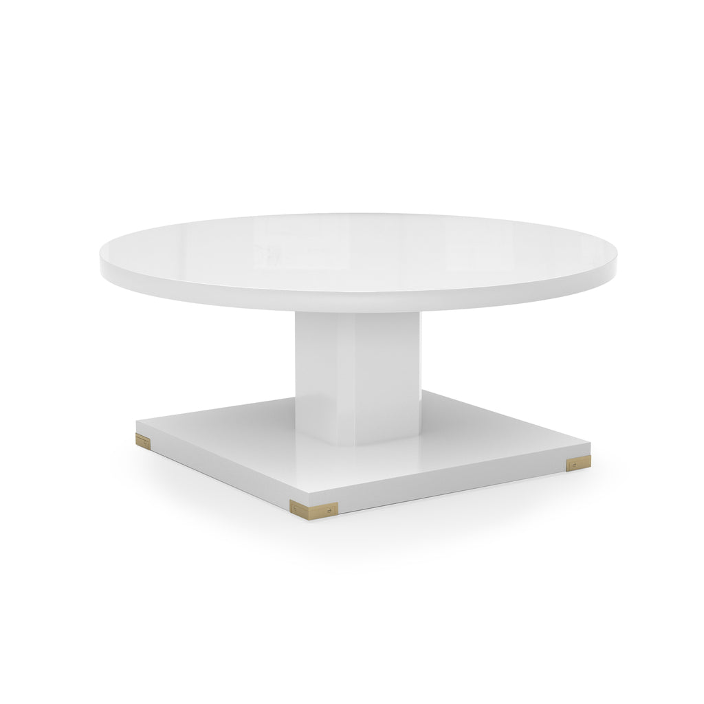 paxton table (white)