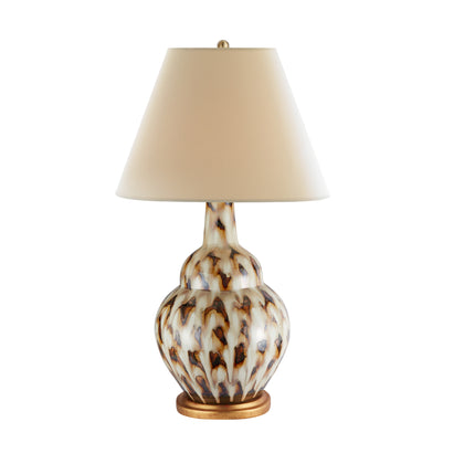 Pheasant Feather Lamp (Brown)