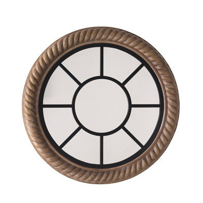 Rope Wheel Mirror
