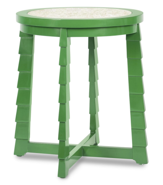 mateo drinks table (green)