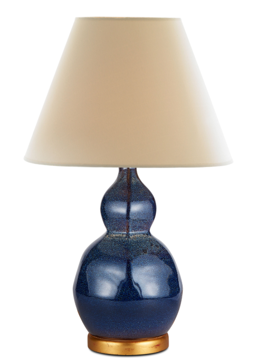 small speckled lamp (indigo)
