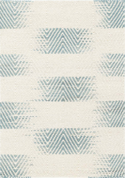 tansey woven wool rug (blue)