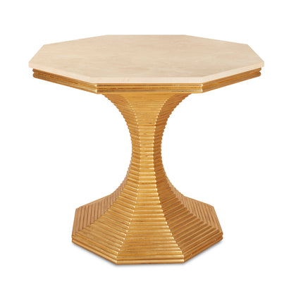Hourglass Table (Gold)