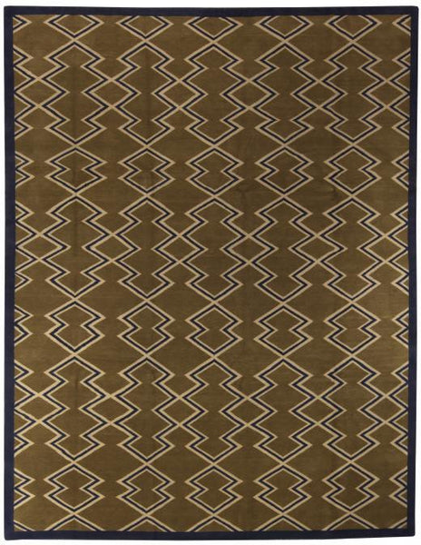 Aztec brown rug wool bunny williams home for 123 william street 3rd floor new york ny 10038