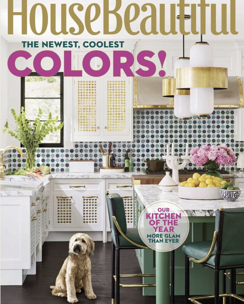 Color in House Beautiful September 2018