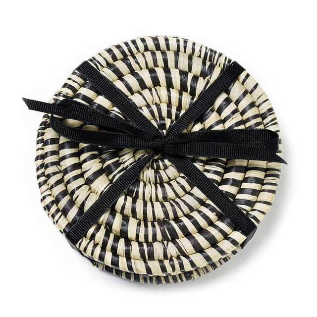 Black Peace Coasters - Decorative Accessory Decorative Accessory Rwanda