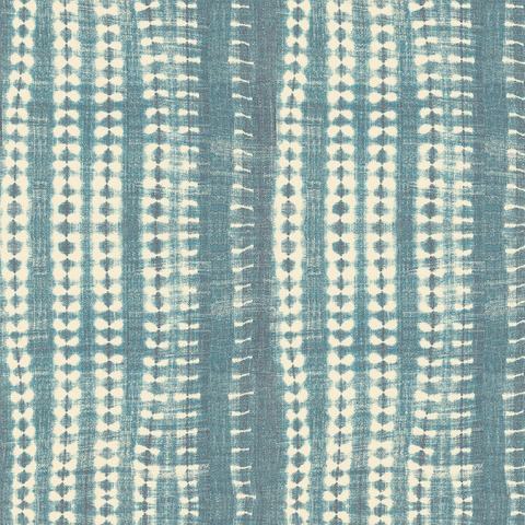 Light Vines Indigo - Fabric