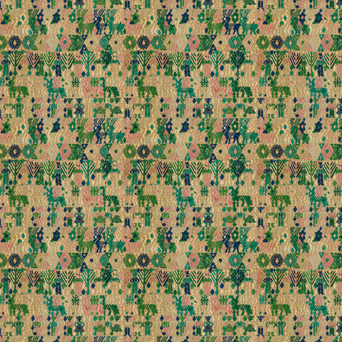 Forest Huipil - Fabric
