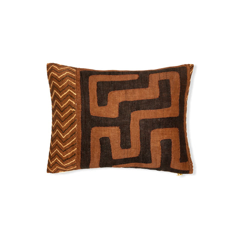 Kuba Cloth XXVII - Lumbar Pillow