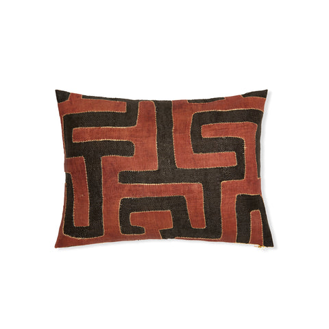 Kuba Cloth XXVI - Lumbar Pillow