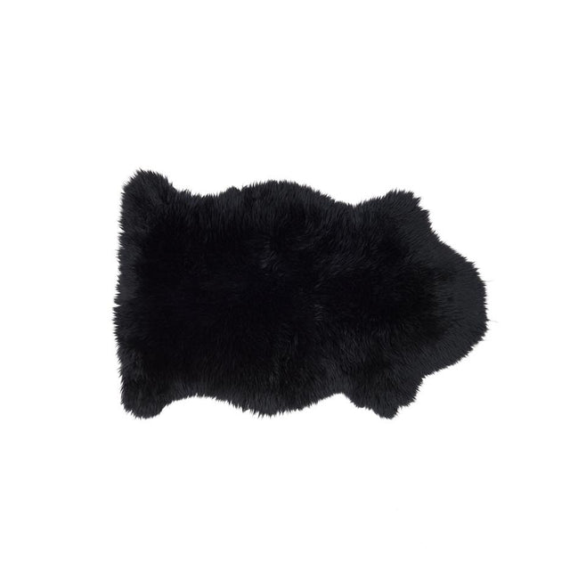 Black Sheepskin - Single Rug