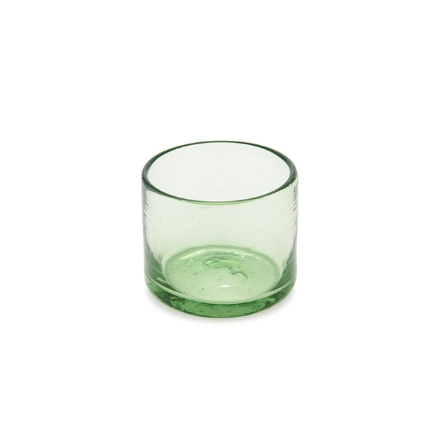 Green Tumbler - Glass Tabletop Mexico