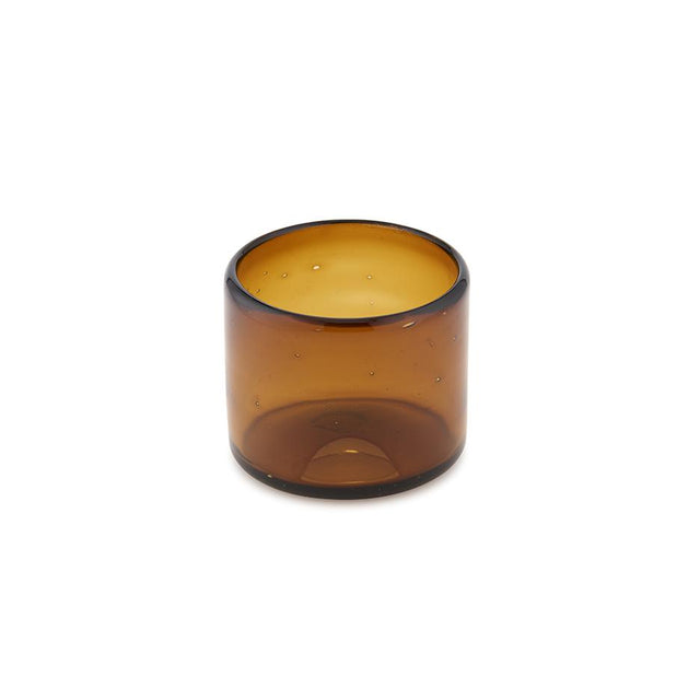 Amber Tumbler - Glass Tabletop Mexico