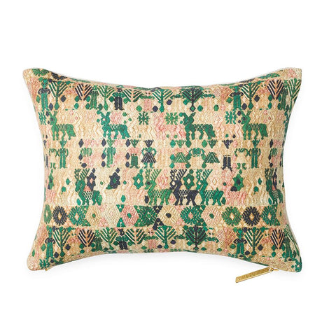 Forest Huipil - Lumbar Pillow
