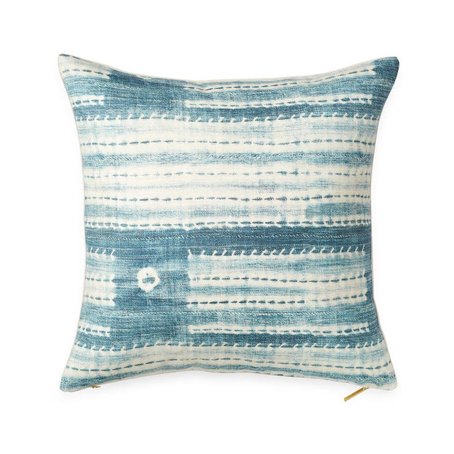 Washed Indigo - Throw Pillow