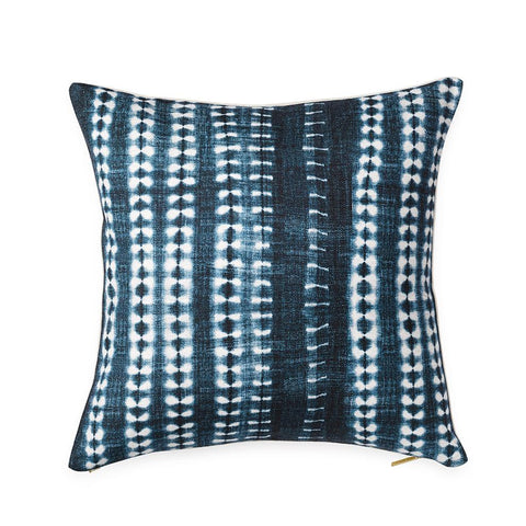 Dark Vines Indigo - Euro Pillow
