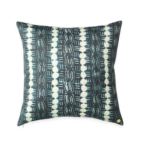 Beads Indigo - Throw Pillow