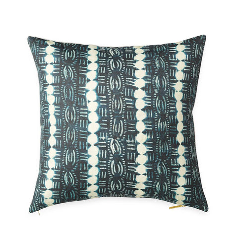Beads Indigo - Euro Pillow