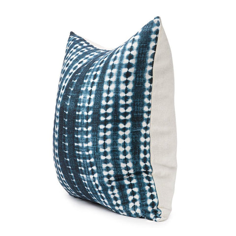Dark Vines Indigo - Throw Pillow