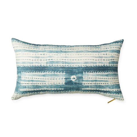 Washed Indigo - Lumbar Pillow