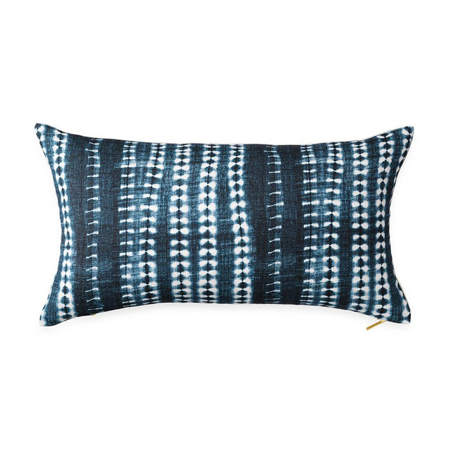 Dark Vines Indigo - Lumbar Pillow Pillow St. Frank