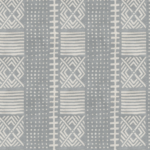 Dove Dots Mud Cloth - Wallpaper