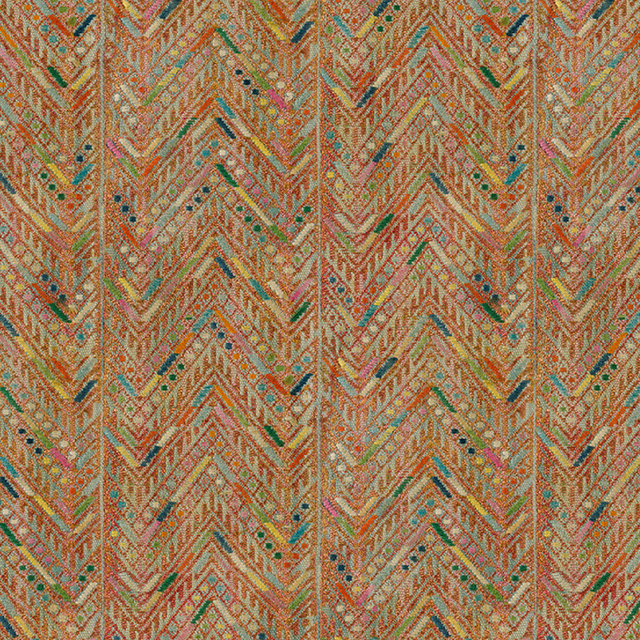Herringbone Huipil - Wallpaper Yardage St. Frank
