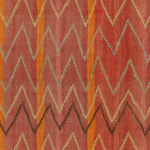 Chevron Kilim - Wallpaper