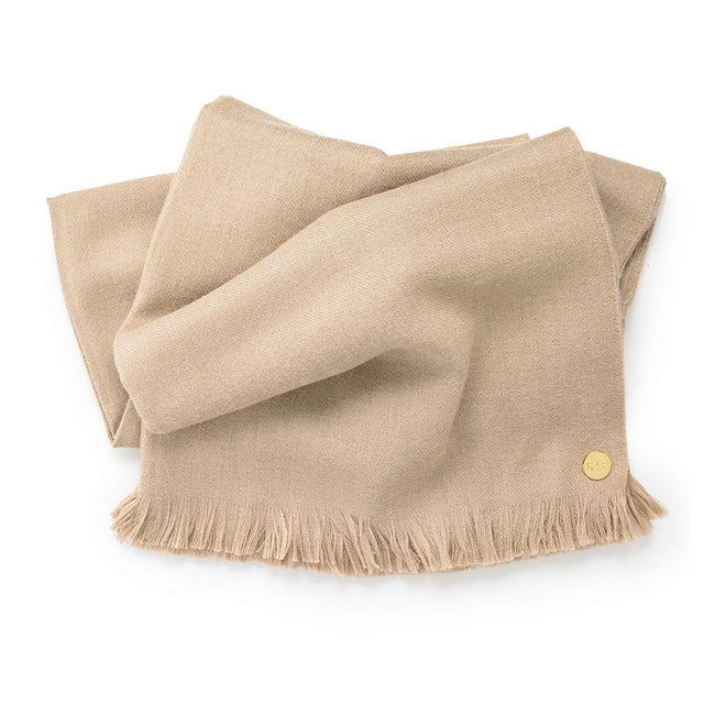 Baby Alpaca Throw - Camel SOLD OUT Peru