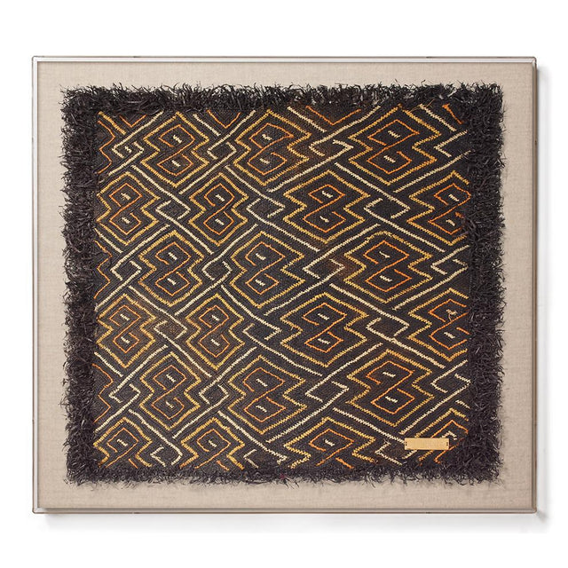 Kuba Cloth II - Accent Framed Textile