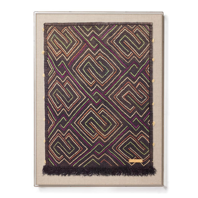 Kuba Cloth III - Accent Framed Textile