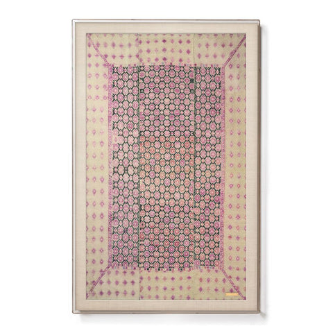 Miao III - Sublime Framed Textile
