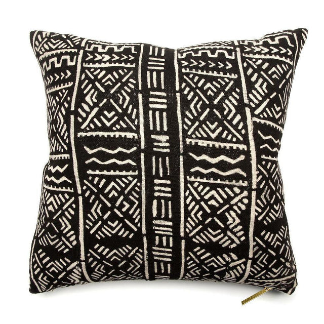 Mud Cloth I - Throw Pillow Pillow Burkina Faso