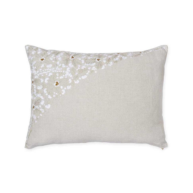 Stone Oaxacan Embroidery - Standard Pillow Pillow St. Frank
