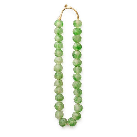 Light Green Glass Beads - Decorative Accessory